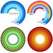 Processing Wheel Chart Set