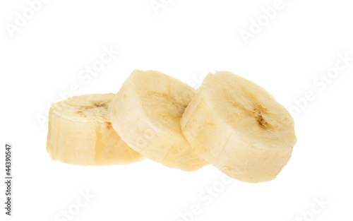 Bananen Scheiben