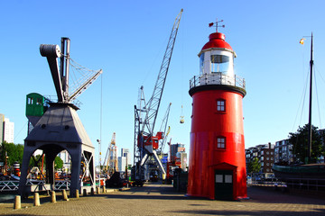 Old port in Rotterdam.