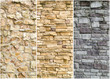 pattern sample of stone wall surface - 44390960