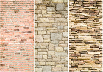 sample pattern of stone wall surface
