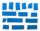 Blue tape slices