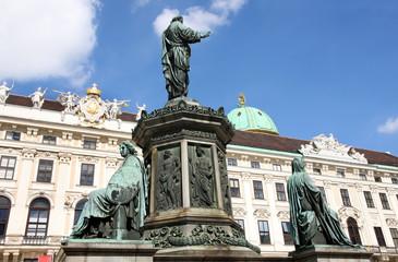 Hofburg Palace courtyard, Vienna, Austria
