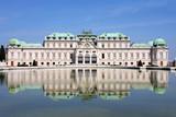Baroque castle Belvedere, Vienna, Austria