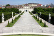 the Lower Belvedere, Vienna, Austria