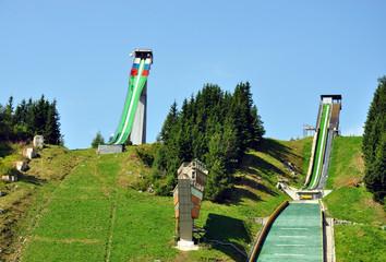 springboard, Strbské Pleso, High Tatras, Slovakia