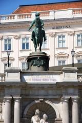 Albertina museum in Vienna, Austria