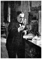 Scientist 19th century (Louis Pasteur)
