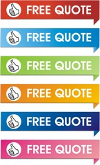 boutons free quote