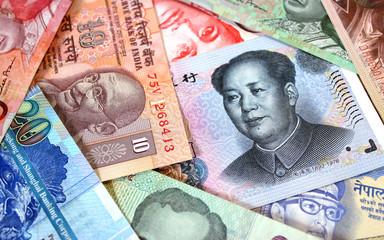 Banconote dell'Oriente