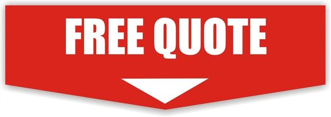 étiquette free quote