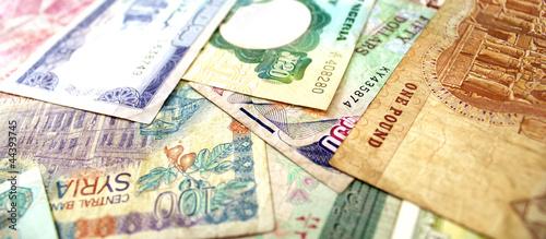 Banconote del Medio Oriente