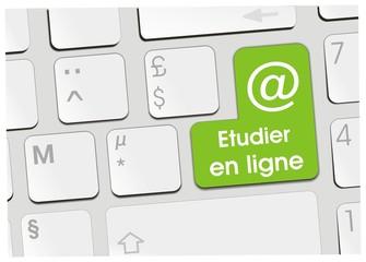 bouton étudier en ligne