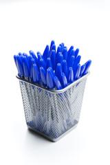 Boligrafos azules