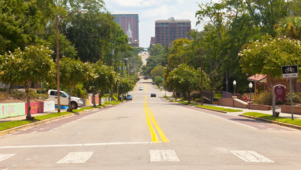 College Avenue in Tallahassee, Florida