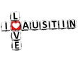 3D I Love Austin Crossword