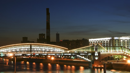 Moscow, Russia. Night View