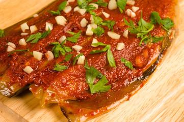 Freshly marinated mackerel