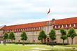Part of Rosenborg Castle in Copenhagen, Denmark.