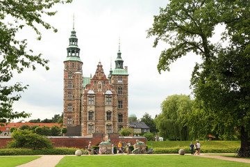 Rosenborg Castle is castle situated at centre of Copenhagen