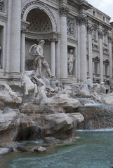 fountain of trevi at Rome