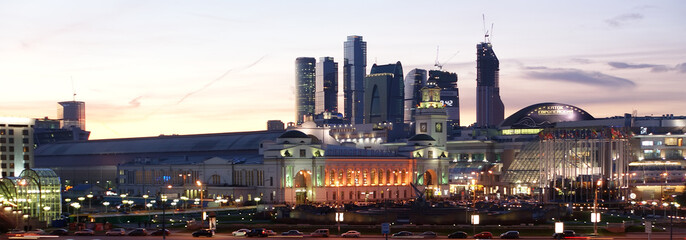 Moscow, Russia. Night.