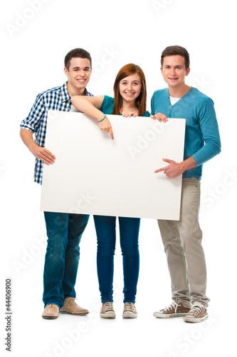 Leinwanddruck Bild Studenten
