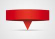 Origami - Bannière papier rouge