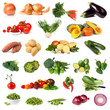 Vegetable Collection Isolated on White