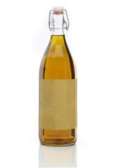 Olivenölflasche als Freisteller