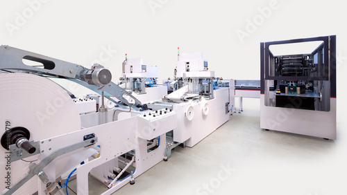 Leinwanddruck Bild Packaging and printing machines