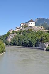 die bekannte Festung von Kufstein am Inn
