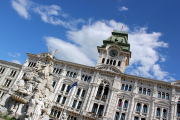 Piazza Unità d'Italia, Trieste, Italia 2013