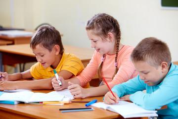 Drawing classmates