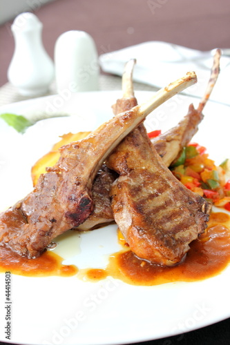 Lamb steak