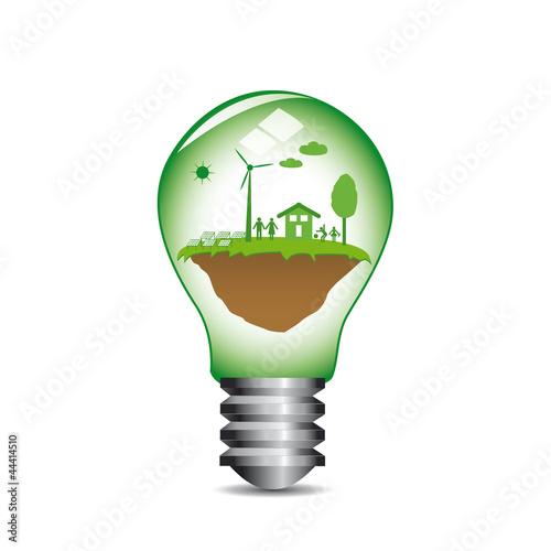 nergie renouvelable ampoule lot de lil 22 fichier vectoriel libre de droits 44414510 sur. Black Bedroom Furniture Sets. Home Design Ideas