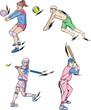 Volleyball and Baseball