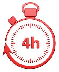 4H Chrono (rouge)