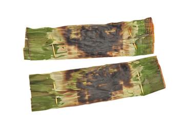 Otak-Otak - Fish Meat Wrapped In Banana  Leaf