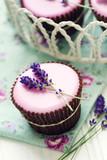 Fototapety Lavender cupcakes