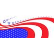 USA abstract flag