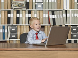 Very young Businessman