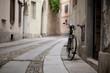 Bike on the street