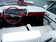 Retro car classic interior