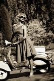Fototapeta motocykl - na zewnątrz - Inne