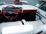 Retro car classic interior