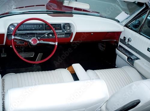 Fototapeten,american,autos,classic,interior