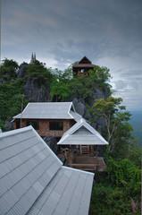 Top of the Chaloem Phra Kiat temple.