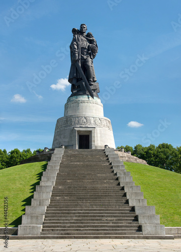 Memorial of the second world war and russian soldiers