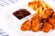 Fried meats